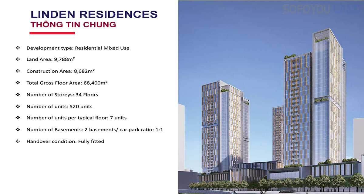 Căn Hộ Linden  Residences - MU 4 Empire City